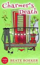 Cover Charmers Death by Beate Boeker Temptation in Florence #2 cozy mystery