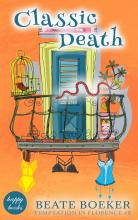 Cover Classic Death by Beate Boeker Temptation in Florence #6 cozy mystery