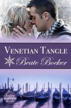 Cover Venetian Tangle by Beate Boeker Sweet Christmas romance Italy Venice